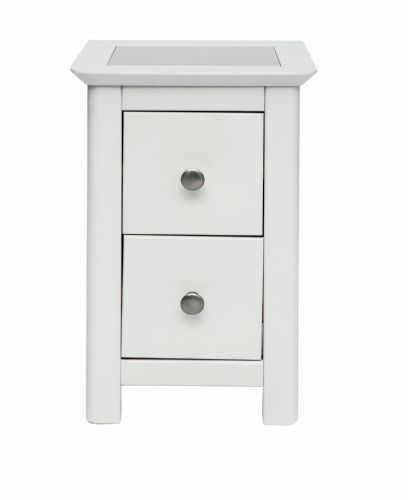 Stirling  2 Drawer Petite Bedside
